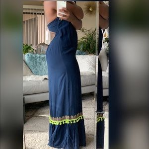 NWT. Vineyard Vines tunic maxi dress. 10